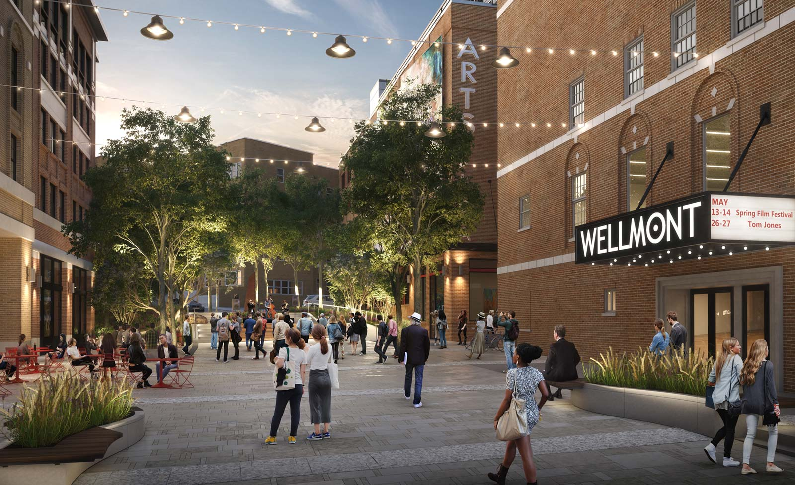Wellmont Redevelopment